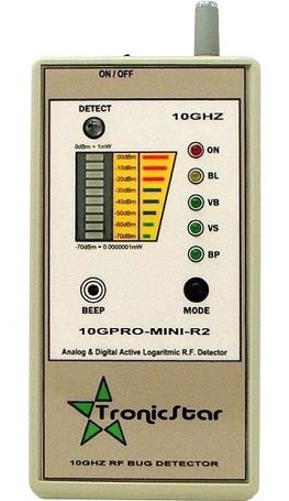 Detector de Câmeras e Escutas Tronicstar 10GPRO-MINI-R2