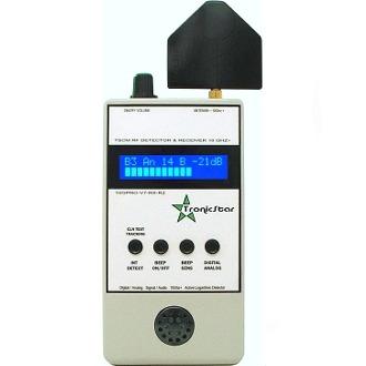 Detector de Câmeras e Escutas 10GHZ 10GPRO-V7-RX-R2